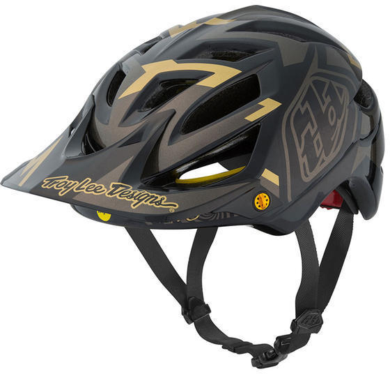 Troy Lee Designs A1 MIPS Helmet Vertigo Color: Black
