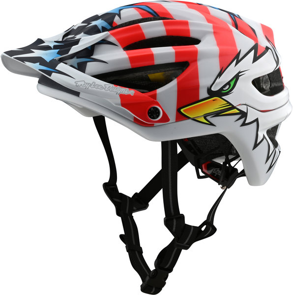 Troy Lee Designs A2 Helmet w/MIPS Screaming Eagle