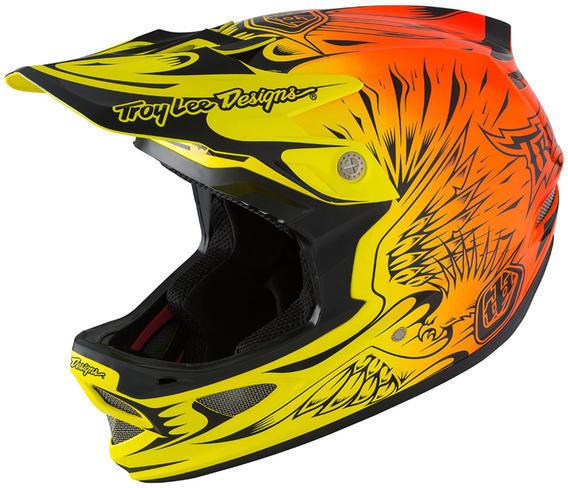 Troy Lee Designs D3 Carbon MIPS Helmet Ravage