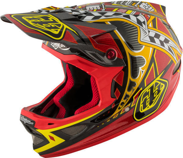 Troy Lee Designs D3 Carbon Helmet MIPS Longshot