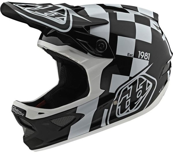 Troy Lee Designs D3 Fiberlite Helmet No MIPS Raceshop