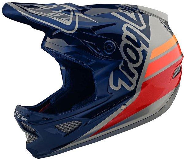 Troy Lee Designs D3 Fiberlite Helmet No MIPS Silhouette