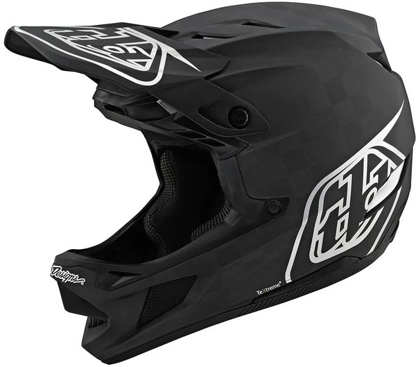 Troy Lee Designs D4 Carbon Helmet w/ MIPS Stealth