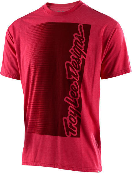 Troy Lee Designs Halfway Tee Color: Red Heather