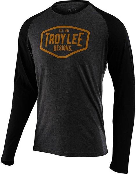 Troy Lee Designs Motor Oil Long Sleeve Raglan