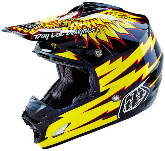 Troy Lee Designs SE3 Helmet Flight