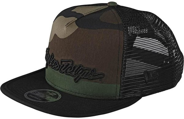 Troy Lee Designs Signature Snapback Color: Army Camo