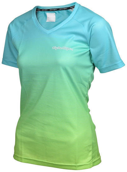 Troy Lee Designs Skyline Women's Jersey Dissolve Color: Turquoise