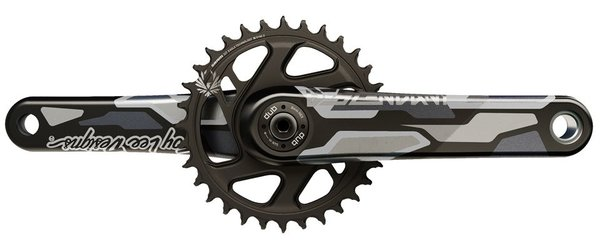 TruVativ Descendant Troy Lee Designs CoLab Downhill Crankset