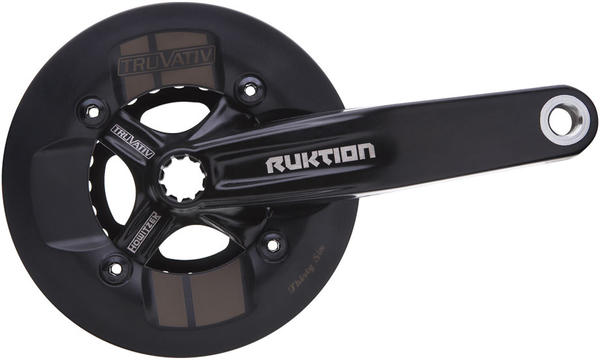 TruVativ Ruktion 1.0 The Ruktion 2.2 RG Crankset (image of 1.0 unavailable from manufacturer).