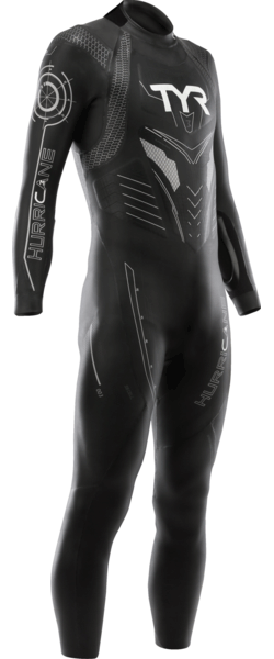 TYR Hurricane Category 3 Color: Black/Silver