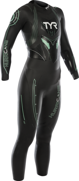 TYR Women's Hurricane Category 3 Color: Black/Seafom