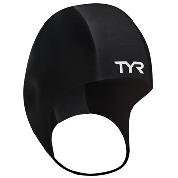 TYR Neoprene Swim Cap Color: Black