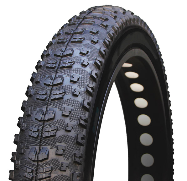 Vee Tire Co. Bulldozer-Fatbike 120tpi K Tire 26-inch Color: Black