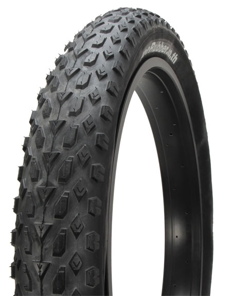 "Vee Rubber Mission Fatbike 26"" Tire Color: Black"