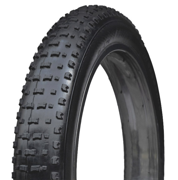 Vee Rubber ShowshoeXL-Studded 120tpi K Tire Color | Model | Size | Type: Black | Folding bead | 26x4.8 | Silica compound