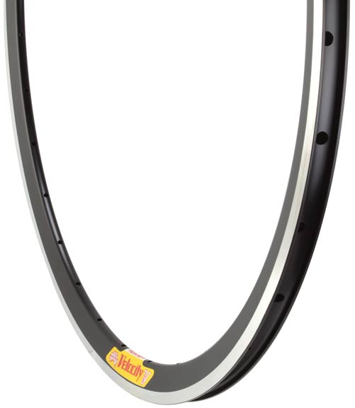 Velocity Deep-V Machined 700c Rim Color | Hole Count | Size | Width: Black | 32 | 700c | 19mm