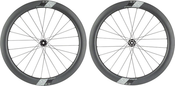 Vision SC55 Wheelset Color: Carbon/White