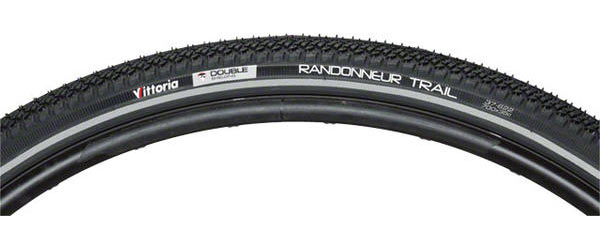Vittoria Randonneur Trail Color: Black/Reflective Sidewall