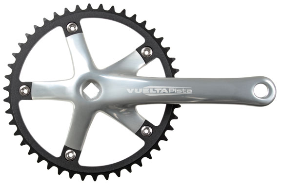 Vuelta Pista Cranks Color: Silver