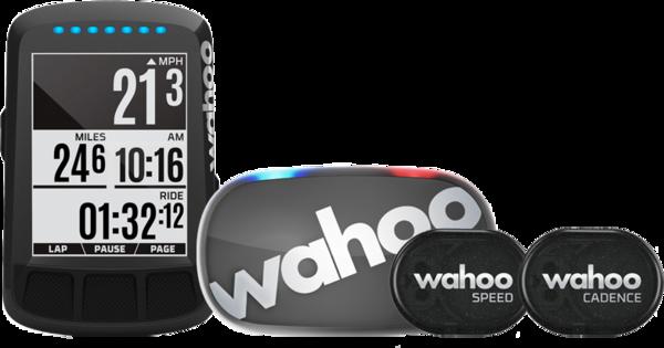 Wahoo ELEMNT BOLT - Stealth Edition - Bike Computer Bundle