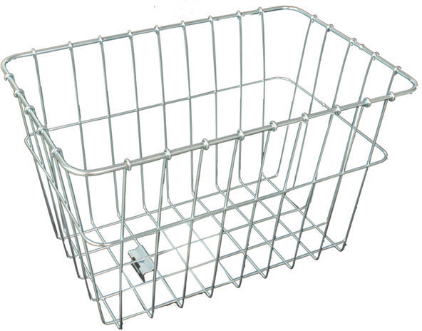 Wald 585 Rear Grocery Basket Color: Plated