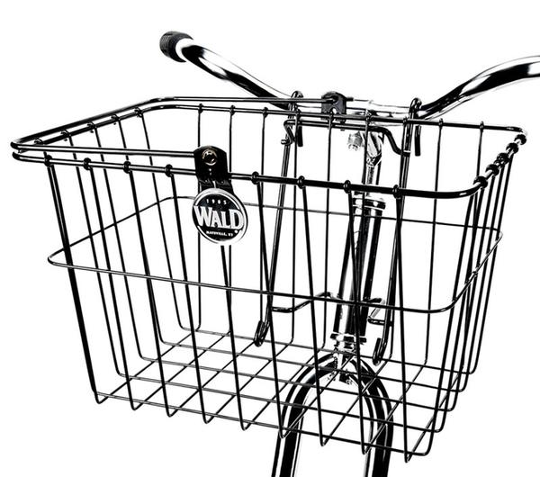 Wald 133 Quick-Release Basket Color: Black