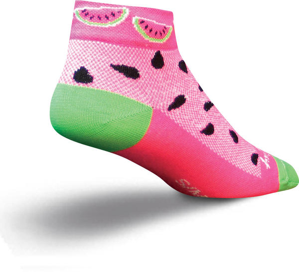 SockGuy Watermelon Socks Color: Watermelon