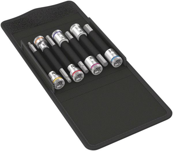 Wera 8740 B HF 1 Zyklop Bit Socket Set