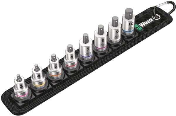Wera Belt B 2 Zyklop In-Hex-Plus Bit Socket Set