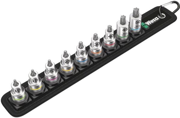Wera Belt B 3 TORX HF Zyklop Bit Socket Set