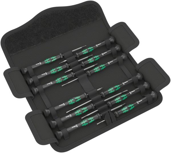 Wera Kraftform Micro 12 Universal 1 Screwdriver Set