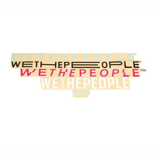 WeThePeople 4 Big Sticker Pack