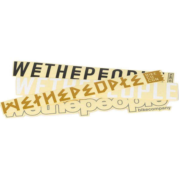 WeThePeople 4BIG Stickers Quantity: 4-pack
