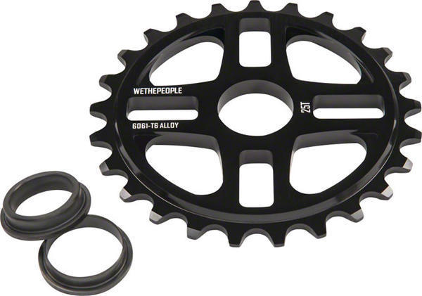 WeThePeople 4 Star Sprocket Color: Black