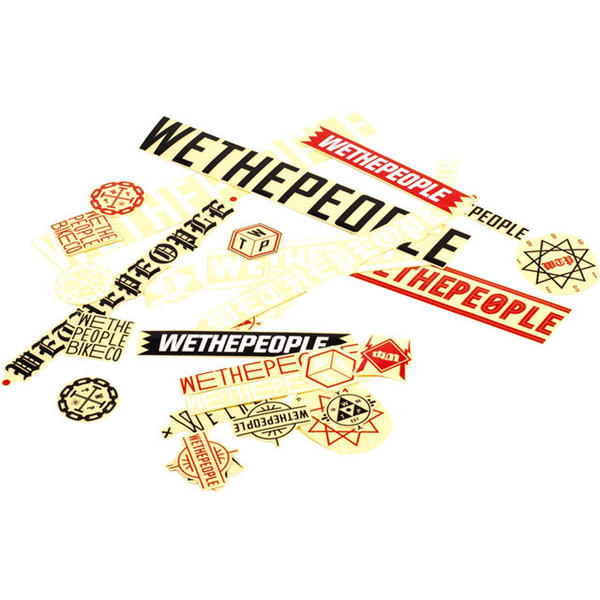 WeThePeople Assorted Stickers 15-pack Quantity: 15-pack