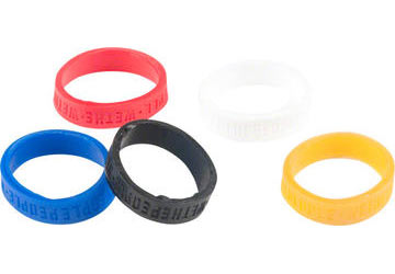 WeThePeople Hilt Grip Ring Set, Red, White, Blue (3 Pairs)