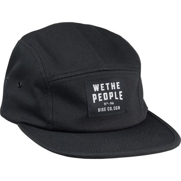 WeThePeople Patch 5-Panel Cap Color: Black
