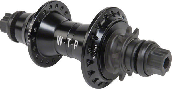 WeThePeople Supreme Cassette Hub Color: Black