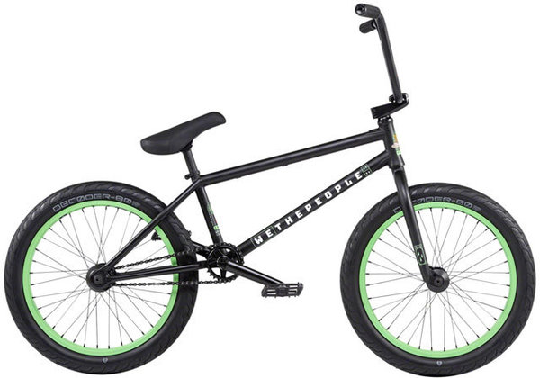 WeThePeople Trust Color: Matte Black
