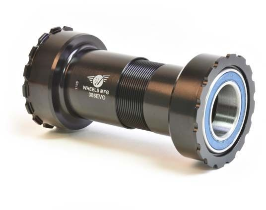 Wheels Manufacturing Inc. 386EVO Angular Contact Bottom Bracket for 22/24mm SRAM Cranks