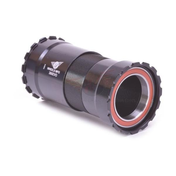Wheels Manufacturing Inc. 386EVO Angular Contact Bottom Bracket Color: Black
