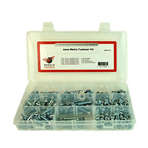 Wheels Manufacturing Inc. 6mm Zinc Plated Steel Fastener Kit