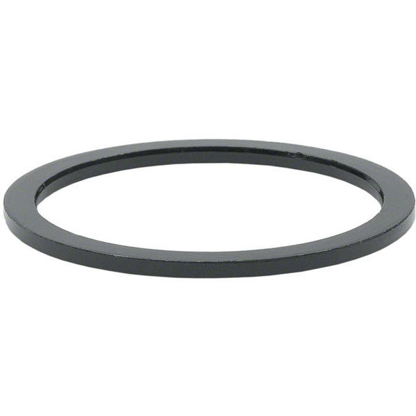 Wheels Manufacturing Inc. Aluminum Headset Spacer Color | Size | Steerer Diameter: Black | 1.5mm | 1 1/8-inch