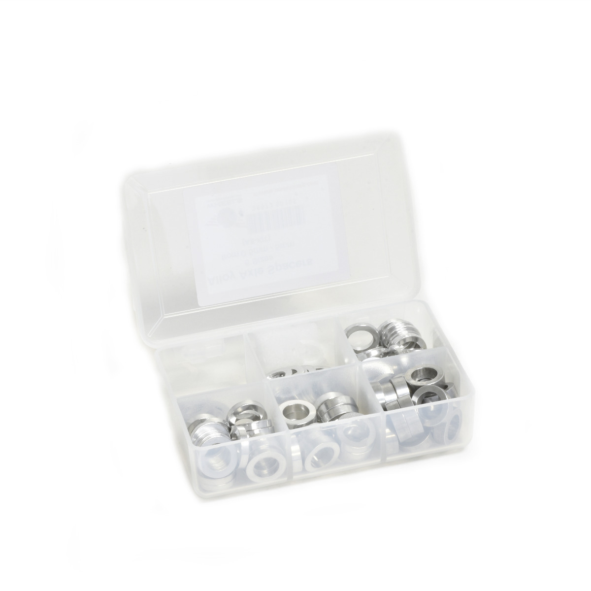 Wheels Manufacturing Inc. Axle Spacer Kit Color: Silver