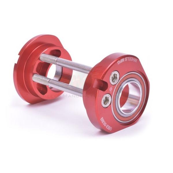 Wheels Manufacturing Inc. Eccentric BB For BB30 & 24/22mm (SRAM, Truvativ) Cranks Color: Red