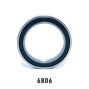Wheels Manufacturing Inc. Enduro 6806 ABEC-5 Sealed Bearing