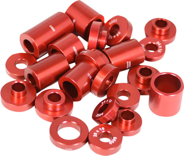 Wheels Manufacturing Inc. Hub Bearing Installation Drift Set Color: Red
