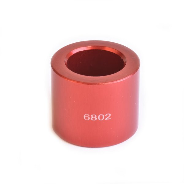 Wheels Manufacturing Inc. Over Axle Adapter Color | Length | Model: Red | 20mm | 6802