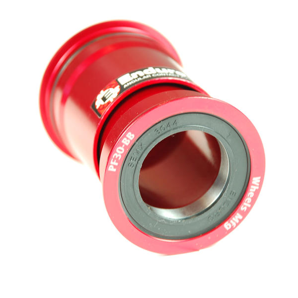 Wheels Manufacturing Inc. PressFit 30 Bottom Bracket Angular Contact Bearings Color: Red